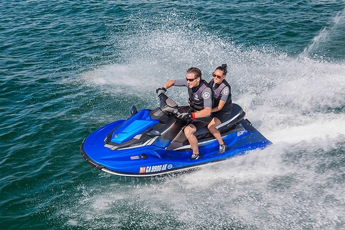 2018 Yamaha EX Deluxe in Port Washington, Wisconsin