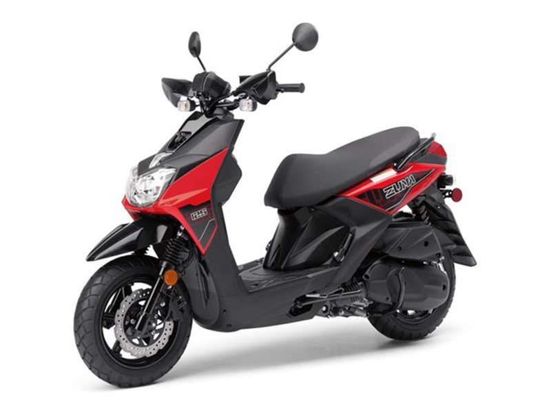 new 2018 yamaha zuma 125 scooters in honesdale pa stock. Black Bedroom Furniture Sets. Home Design Ideas