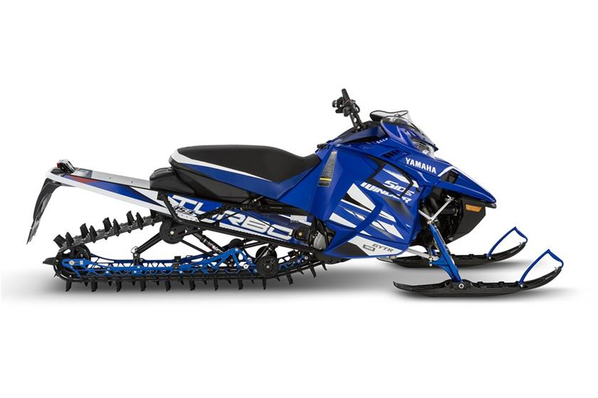 2018 Yamaha Sidewinder M-TX LE 153 in Phillipston, Massachusetts