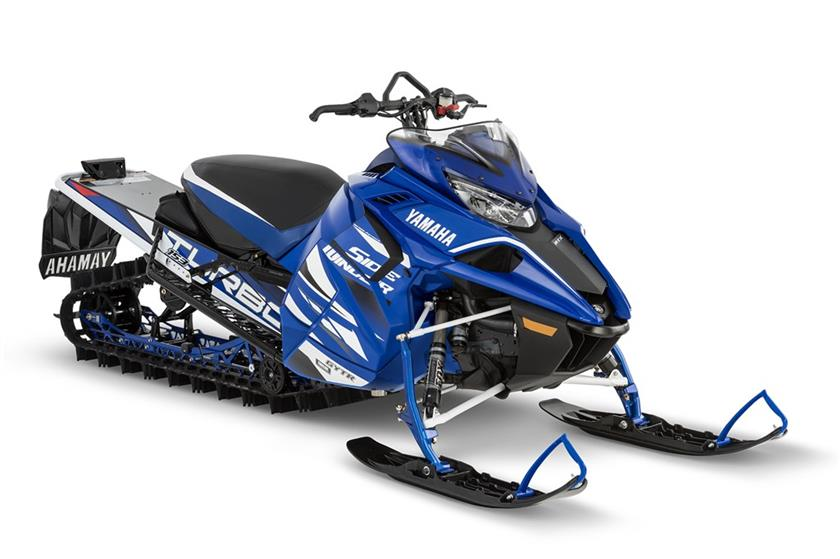 2018 Yamaha Sidewinder M-TX LE 153 in Union Grove, Wisconsin