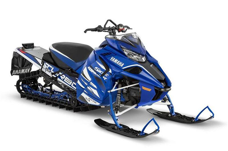 2018 Yamaha Sidewinder M-TX LE 153 in Derry, New Hampshire