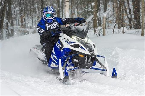 2018 Yamaha Sidewinder X-TX SE 141 in Tamworth, New Hampshire