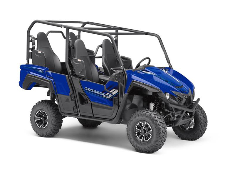 2018 Yamaha Wolverine X4 in Phillipston, Massachusetts