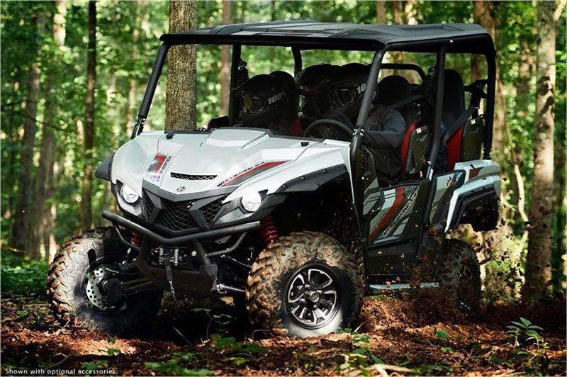 2018 Yamaha Wolverine X4 SE in Phillipston, Massachusetts