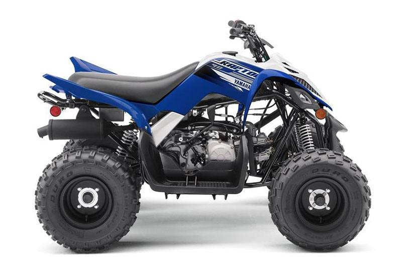 2019 Yamaha Raptor 90 in Francis Creek, Wisconsin - Photo 1