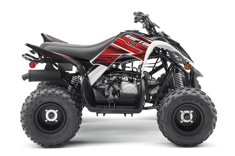 2019 Yamaha Raptor 90 in Hobart, Indiana