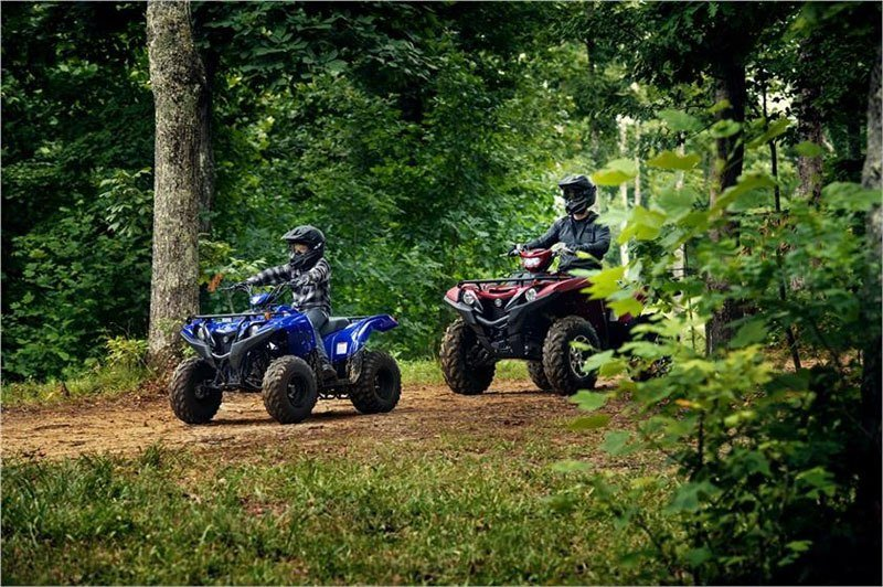 2019 Yamaha Grizzly 90 in Janesville, Wisconsin - Photo 12