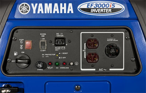 Yamaha EF3000iS Generator in Jasper, Alabama - Photo 4