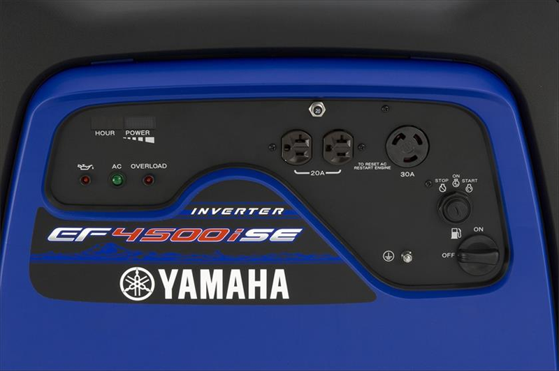 Yamaha EF4500iSE Generator in Geneva, Ohio - Photo 4
