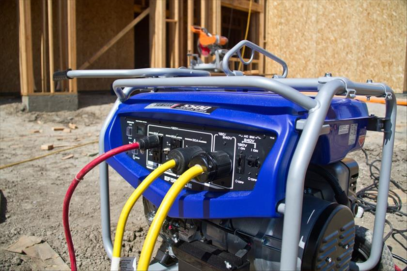 2019 Yamaha EF5500D Generator in Coloma, Michigan
