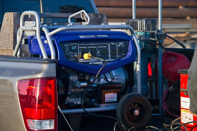 2019 Yamaha EF7200DE Generator in Merced, California