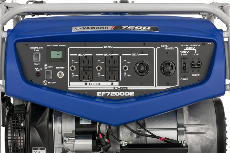 2019 Yamaha EF7200D Generator in Coloma, Michigan