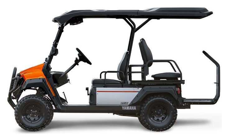 New 2019 Yamaha Umax Rally 2+2 (AC) Nobel Orange | Golf