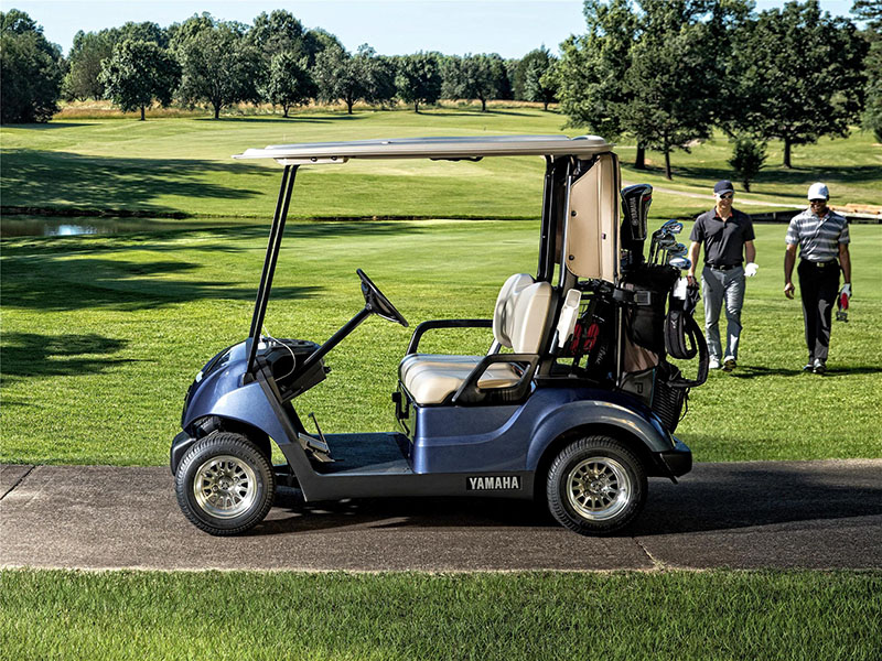 New 2019 yamaha the drive2 fleet gas carbureted golf for Yamaha golf cart gas vs electric