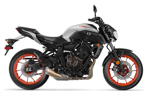 2019 Yamaha MT-07 in Bennington, Vermont