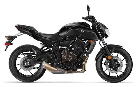 2019 Yamaha MT-07 in Tamworth, New Hampshire