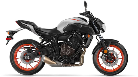 2019 Yamaha MT-07 in Lakeport, California