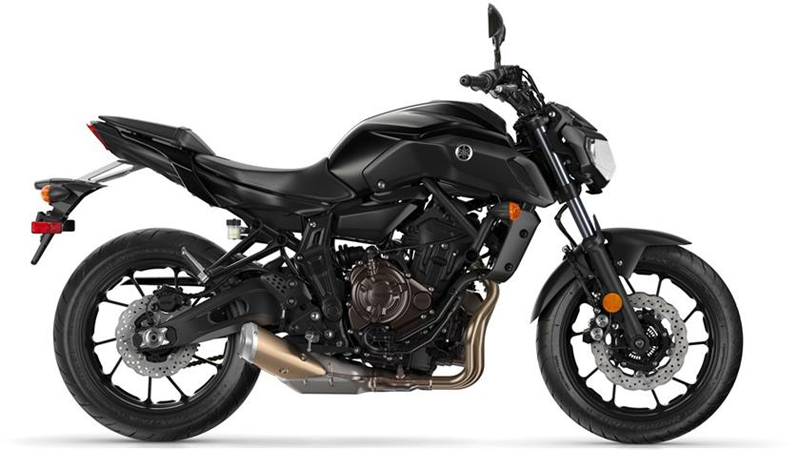 2019 Yamaha MT-07 in Unionville, Virginia