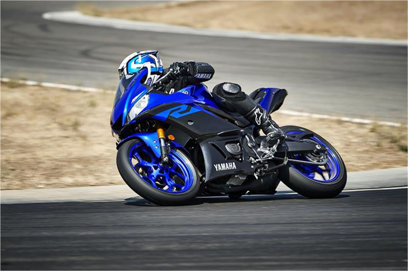 2019 Yamaha YZF-R3 in Tamworth, New Hampshire