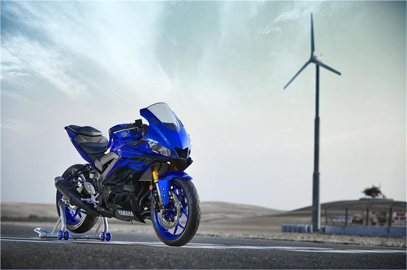 2019 Yamaha YZF-R3 ABS in Northampton, Massachusetts - Photo 4