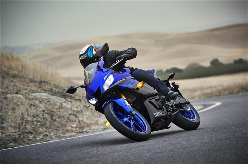 2019 Yamaha YZF-R3 ABS in Simi Valley, California