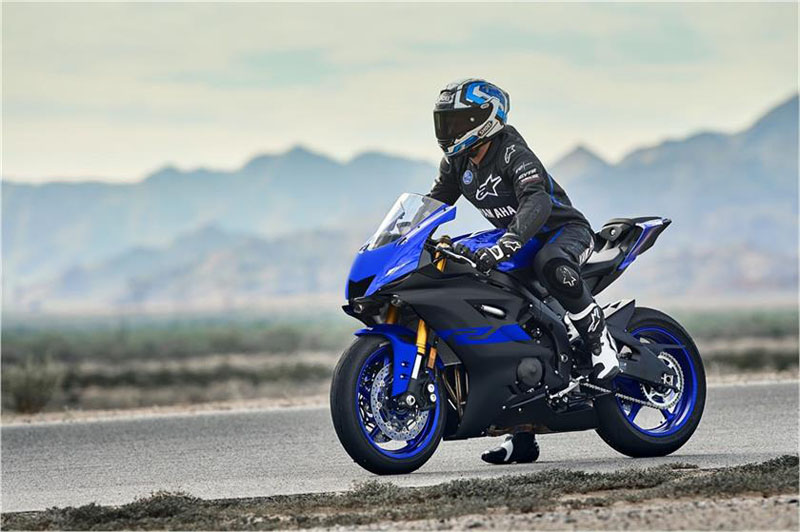 2019 Yamaha YZF-R6 in Tamworth, New Hampshire