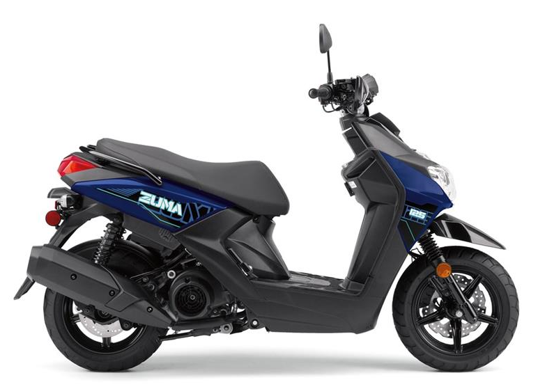 2019 Yamaha Zuma 125 in Galeton, Pennsylvania