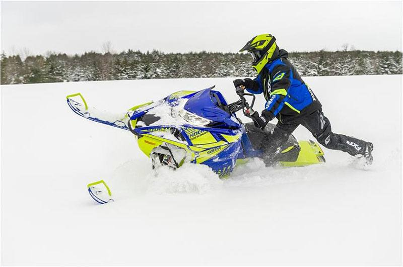 2019 Yamaha Sidewinder B-TX LE 153 in Coloma, Michigan - Photo 5