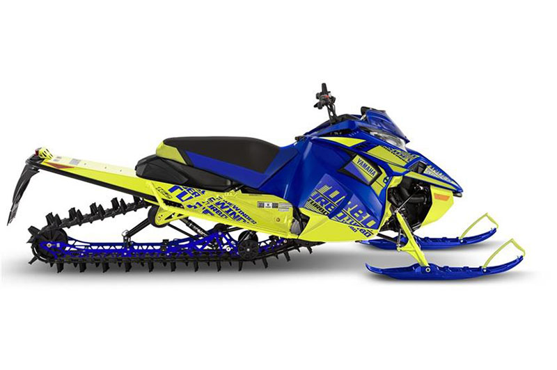 2019 Yamaha Sidewinder M-TX LE 162 in Tamworth, New Hampshire