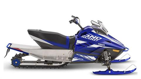 2019 Yamaha SnoScoot ES in Saint Helen, Michigan
