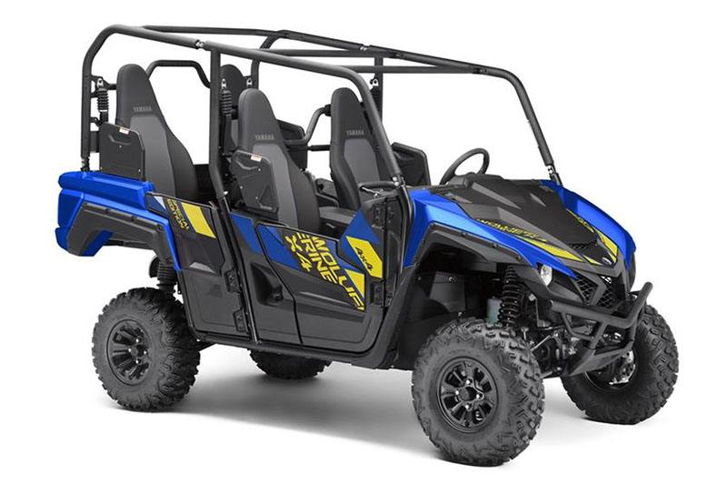 2019 Yamaha Wolverine X4 SE in Waynesburg, Pennsylvania - Photo 2