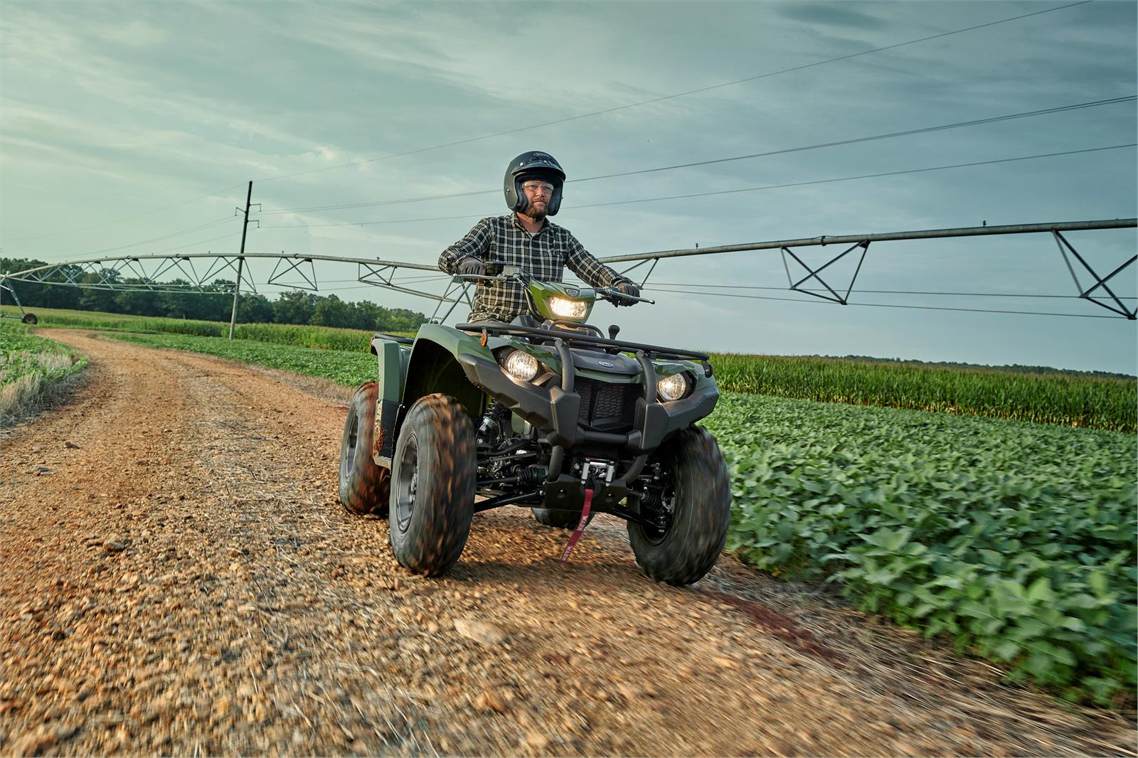 2020 Yamaha Kodiak 450 EPS SE in Geneva, Ohio - Photo 4