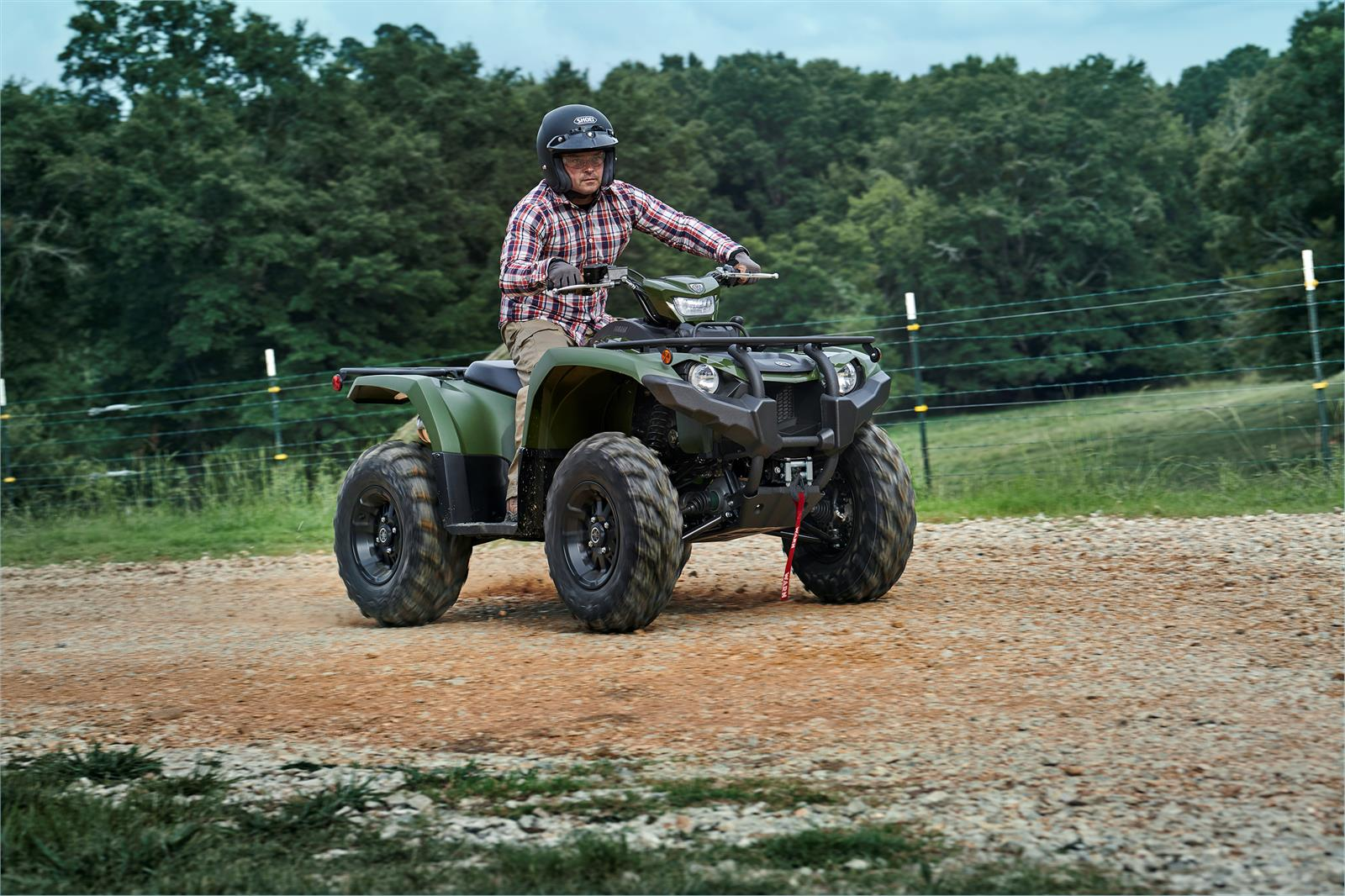 2020 Yamaha Kodiak 450 EPS SE in Franklin, Ohio - Photo 6