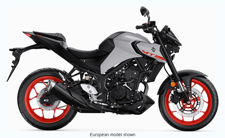 2020 Yamaha MT-03 in San Jose, California - Photo 1