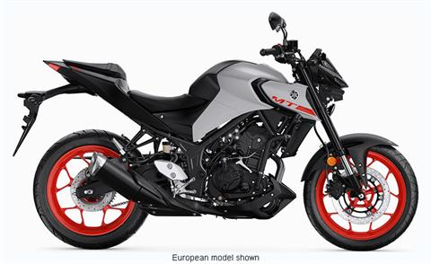 2020 Yamaha MT-03 in Metuchen, New Jersey - Photo 1