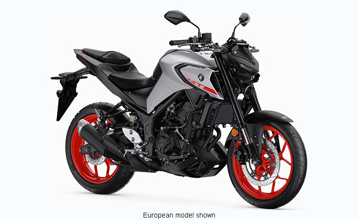 2020 Yamaha MT-03 in Mineola, New York - Photo 3