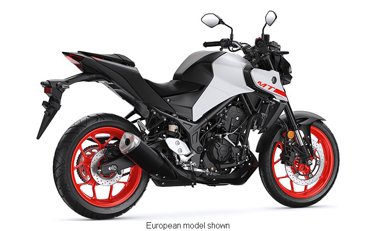 2020 Yamaha MT-03 in San Jose, California - Photo 5