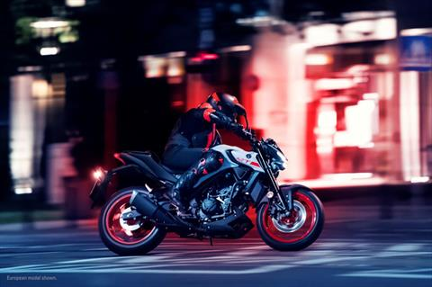 2020 Yamaha MT-03 in Allen, Texas - Photo 20