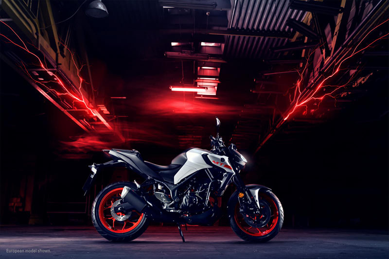 2020 Yamaha MT-03 in Virginia Beach, Virginia - Photo 4