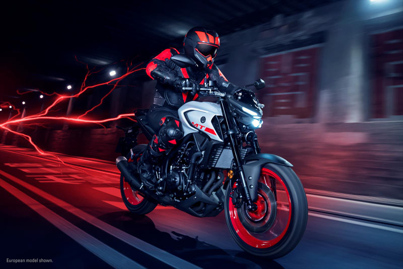 2020 Yamaha MT-03 in Herrin, Illinois - Photo 9