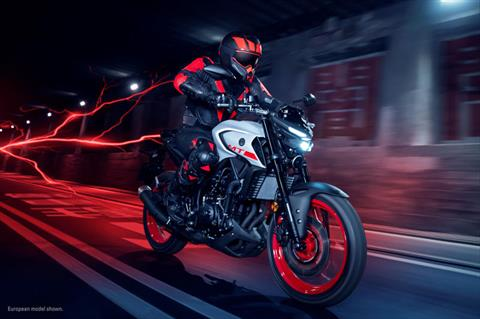 2020 Yamaha MT-03 in San Marcos, California - Photo 9