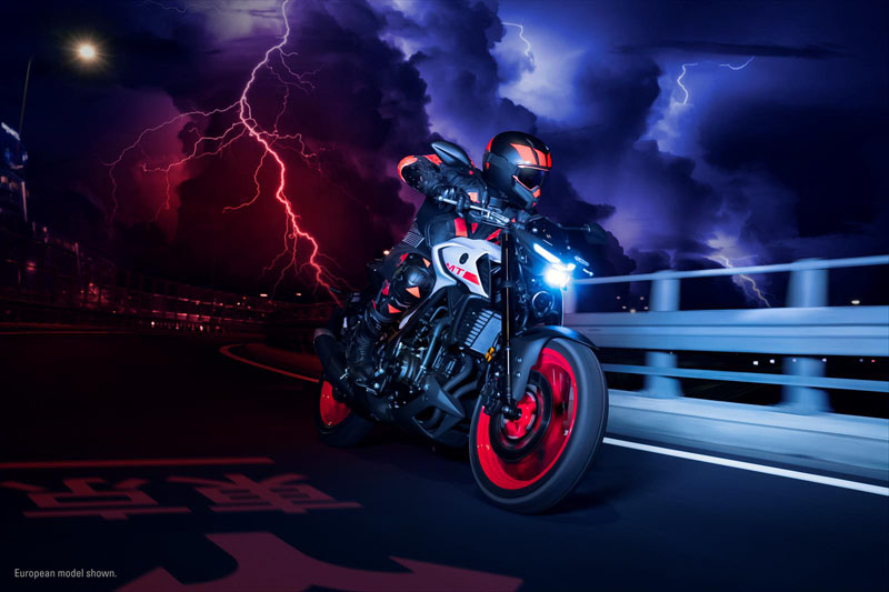 2020 Yamaha MT-03 in San Marcos, California - Photo 10