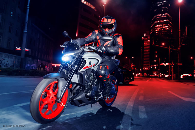 2020 Yamaha MT-03 in Waco, Texas - Photo 11
