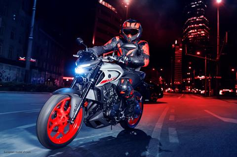 2020 Yamaha MT-03 in San Marcos, California - Photo 11