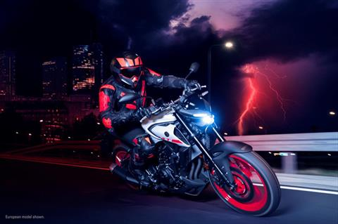 2020 Yamaha MT-03 in San Marcos, California - Photo 12