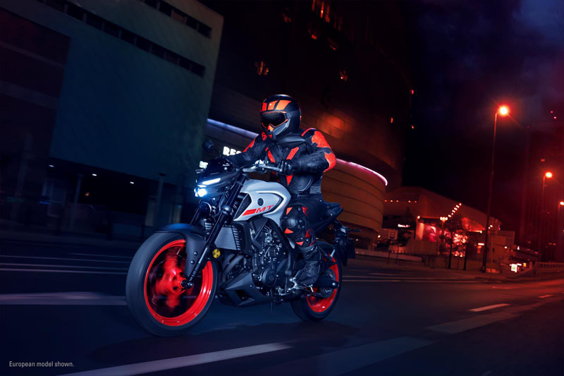 2020 Yamaha MT-03 in San Marcos, California - Photo 13