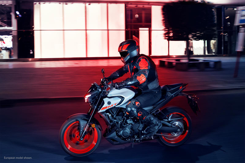 2020 Yamaha MT-03 in San Marcos, California - Photo 16