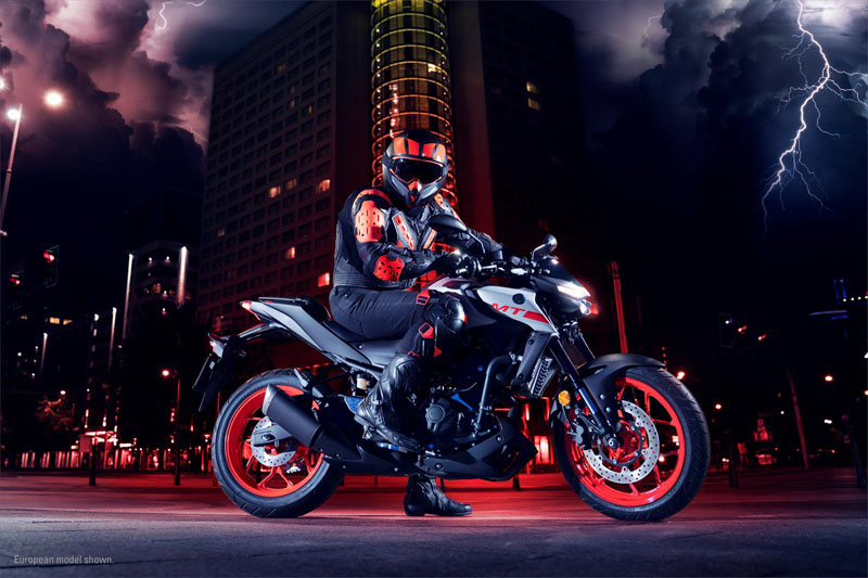 2020 Yamaha MT-03 in San Marcos, California - Photo 17