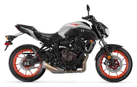 2020 Yamaha MT-07 in Janesville, Wisconsin