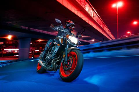 2020 Yamaha MT-07 in Mount Pleasant, Texas - Photo 7